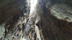 Rock Climbing Photo: Onsight of a 6c in Cuba.  OK, I'm super excite...