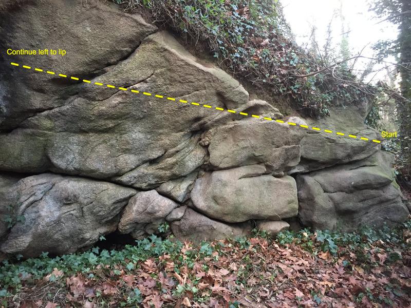 Rock Climbing Photo: Start of Plant World
