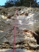 Rock Climbing Photo: Rap off Cavemen