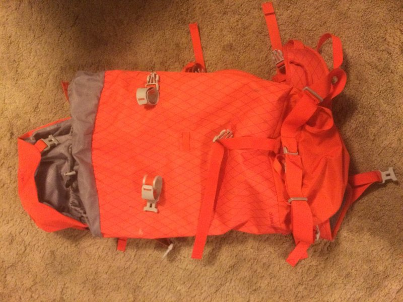 Rock Climbing Photo: Mammut Spindrift Tour 32 pack