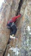 Rock Climbing Photo: Near the start of climb.