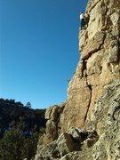Rock Climbing Photo: Bob 'pinking' Burnt Toast.