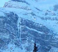 Rock Climbing Photo: Riptide, Ice fields parkway, Alberta