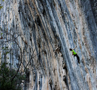 Rock Climbing Photo: Passing through the 7th circle
