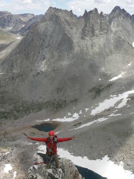 Antelope Arete (Pronghorn Peak) in Wind River Range