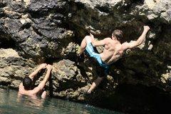 Rock Climbing Photo: Me (Evan Marsh) at Kyle's Landing. Oh to be st...