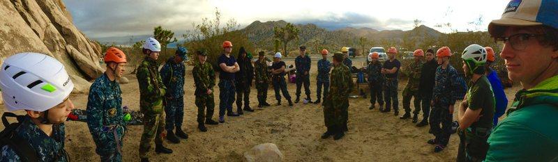 Rock Climbing Photo: Jordan @ das Sea Cadets!!!