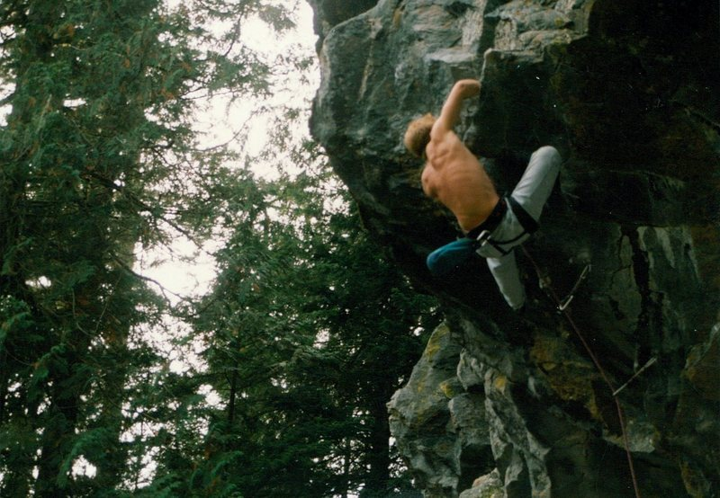 Rock Climbing Photo: Shorty.