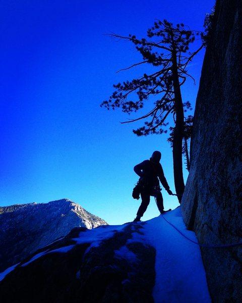 Rock Climbing Photo: Alpine Suicide!!!