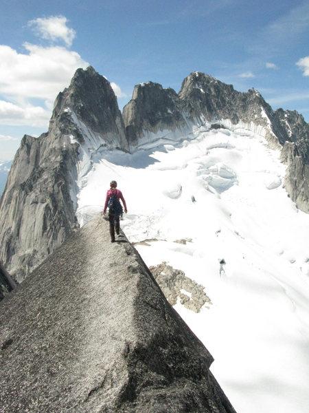 Rock Climbing Photo: pigeon spire