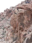 Rock Climbing Photo: Rappel Party