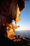 Rock Climbing Photo: The Fang, Larrabee State Park, Washington