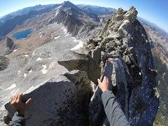 Rock Climbing Photo: Thinking light thoughts.