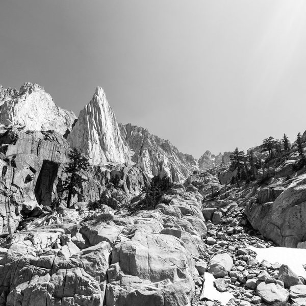 Rock Climbing Photo: The Incredible Hulk, Sawtooth Range, High Sierra
