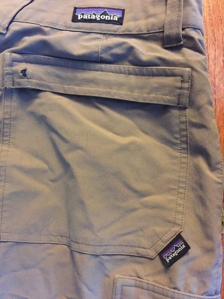 Rock Climbing Photo: Patagania convertible pants