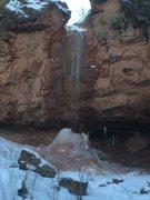 Rock Climbing Photo: Camp creek