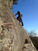 Rock Climbing Photo: 5.5 lower face