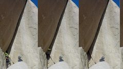 Rock Climbing Photo: Stunning line