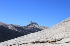 Rock Climbing Photo: Cathedral Peak from Lembert Dome.