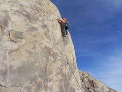 Rock Climbing Photo: Zach Tipton on Judgment Day Terminator Block