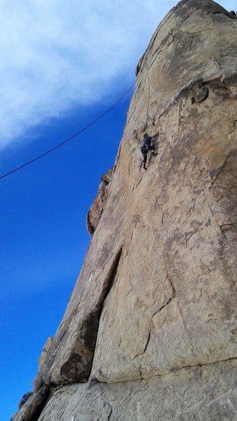 Rock Climbing Photo: Keny Kirklin on Cringer Castle Grayskull