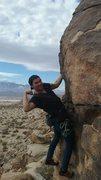 "Rock Climbing Photo: River Smith on Captain Desert Rat Tell ""No Ta..."