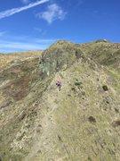 Rock Climbing Photo: Approach trail