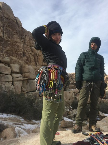 Rock Climbing Photo: Feelings the vibes before Butterfingers make me ho...