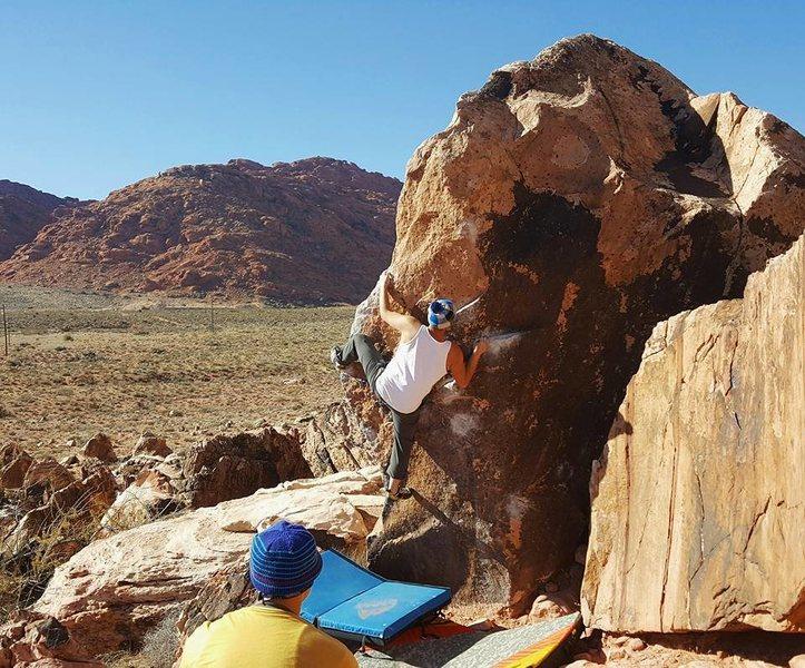 Rock Climbing Photo: Patrick on Ultimate Grandstaff
