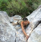 Rock Climbing Photo: Karla Moya on Daughter of Eve