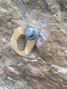 "Rock Climbing Photo: 1/2"" lead bolts"