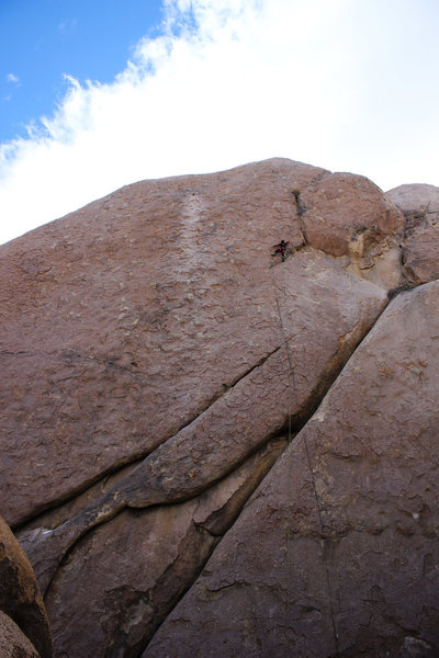 Rock Climbing Photo: Phil on Alabama Hills Gang