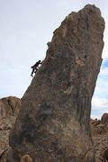 Rock Climbing Photo: Phil on The Burnt Penis
