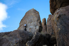 Rock Climbing Photo: Starting up Magus
