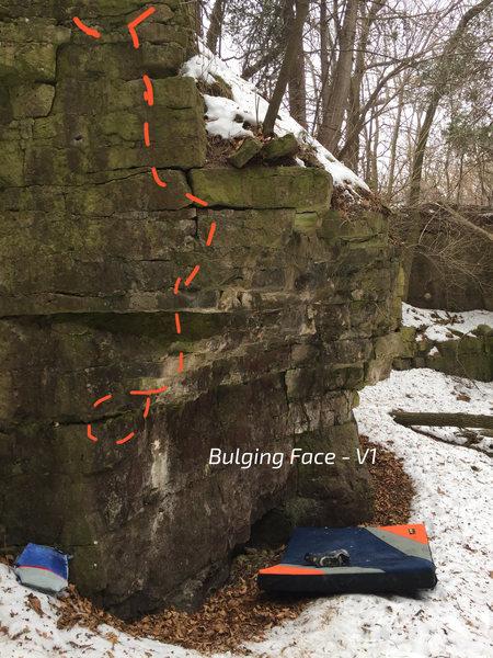 Bulging Face - V1