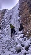Wet itchies best shape I've ever climb it. Great ice.