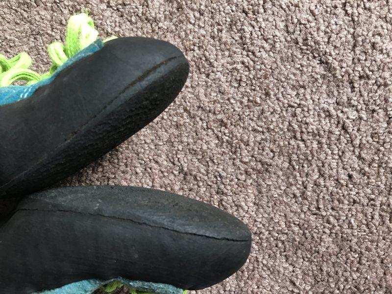 Rock Climbing Photo: Boreal Shoes