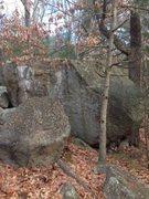 Rock Climbing Photo: The long face.