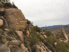 Rock Climbing Photo: Unknown & Angel's