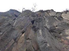 Rock Climbing Photo: Armando Dattoli climbing Xochipili.  Photo by Maur...