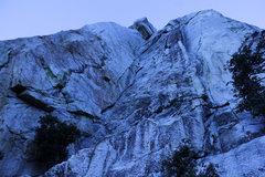 Rock Climbing Photo: pre-sunrise view of Open Book