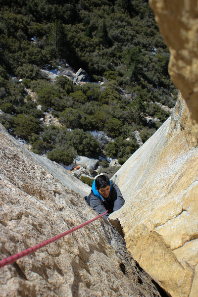 Rock Climbing Photo: The Open Book
