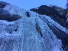 Rock Climbing Photo: Alan Spadafora bein an Ice BOSS! 12/29/16
