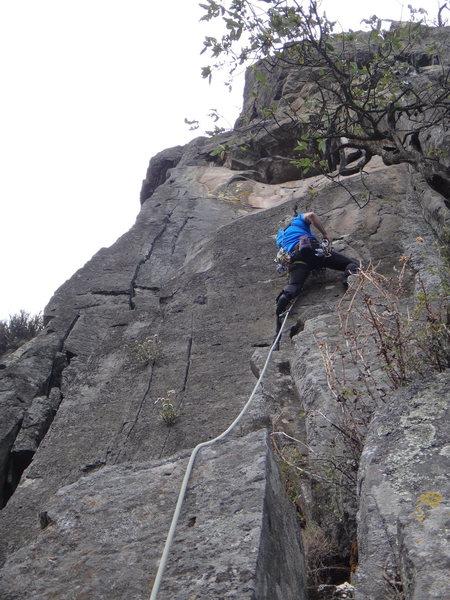 Rock Climbing Photo: Armando Dattoli climbing Crema De Cacahuate.  Phot...