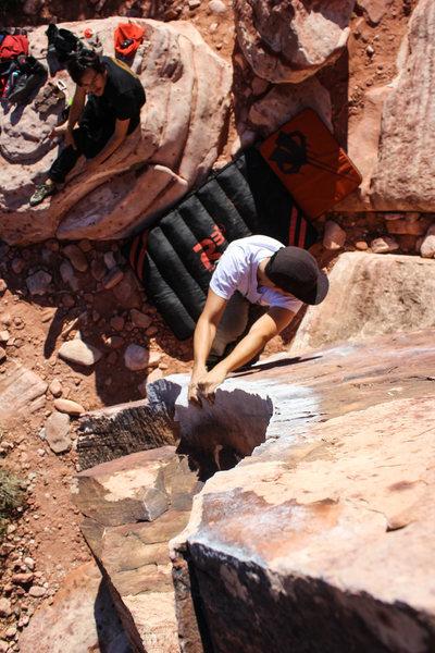 Rock Climbing Photo: The Pork Chop