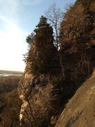 Rock Climbing Photo: Geological features include spires and natural arc...