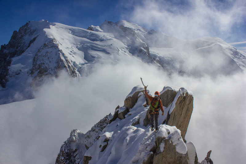 Rock Climbing Photo: End of the arete