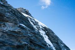 Rock Climbing Photo: Mittellegi Ridge