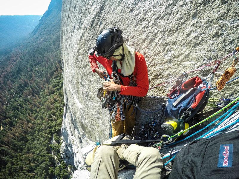 Rock Climbing Photo: Pitch 4? 5?