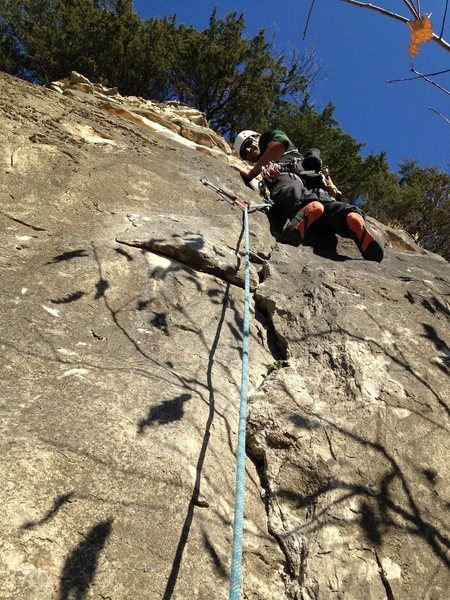 Scott Riley leading Artifact 5.7, Artifact Wall, Spire Area, Providence North